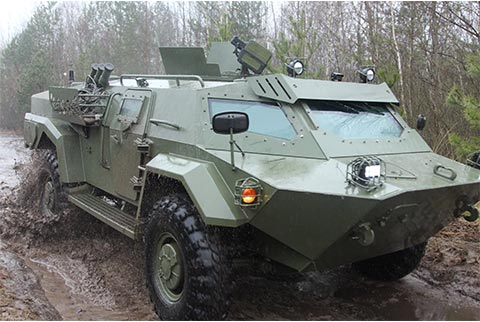 Armored Vehicles' Armaments and Equipment | bvps