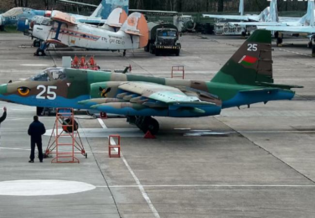 Four Overhauled Assault Aircraft Su 25 Handed Over To Belarusian Army Bvps